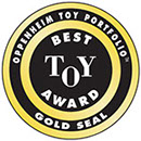 Oppenheim Toy Portfolio™ Gold Seal Award