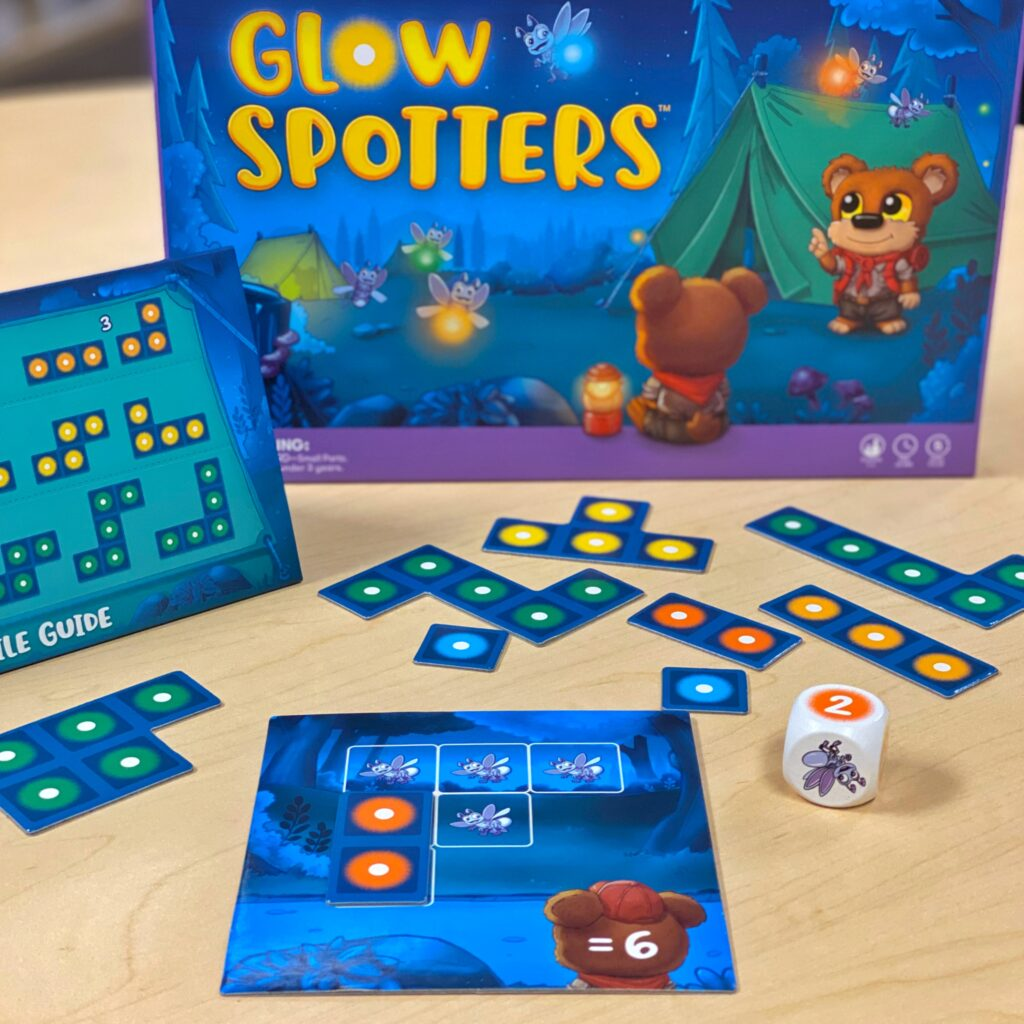 SimplyFun Blog - Meet Our Newest Math Games - Glow Spotters