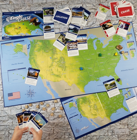 SimplyFun Blog - Eagle Chase: SimplyFun's Newest Geography Game